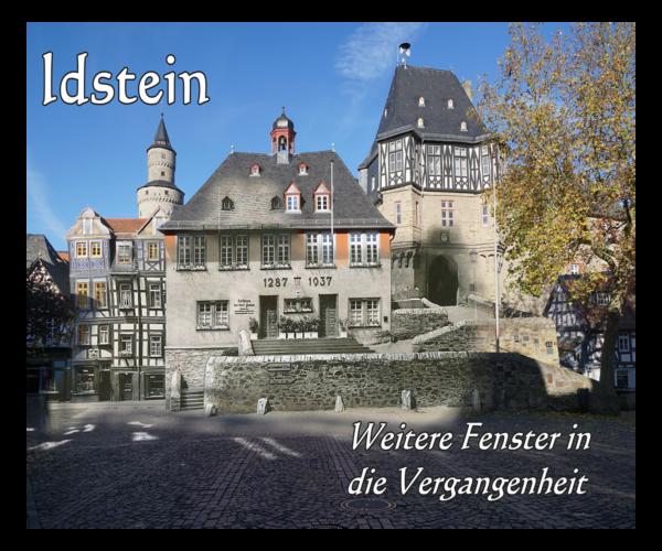 Idstein – Weitere Fenster in die Vergangenheit (2017)
