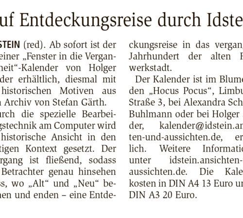 Idsteiner Zeitung – 20.12.2016