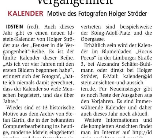 Idsteiner Zeitung – 13.12.2017