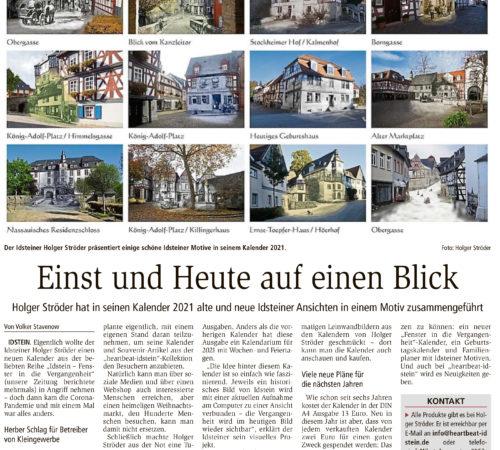 Idsteiner Zeitung – 23.11.2020